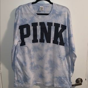 Victoria's Secret Long Sleeve Tie-Dye Tee